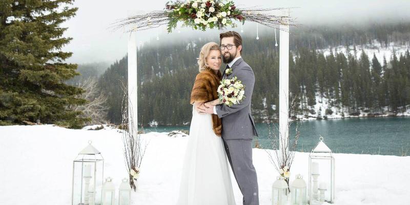 7666c5445fc5919 Зимняя свадьба 2018-2019: модные тренды - Мила-Веста